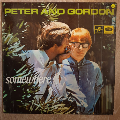 Peter & Gordon ‎– Somewhere -  Vinyl LP Record - Very-Good+ Quality (VG+)