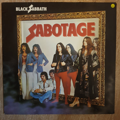Black Sabbath ‎– Sabotage (Germany Pressing) -  Vinyl LP Record - Very-Good+ Quality (VG+)