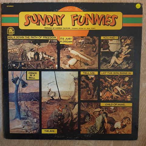 Sunday Funnies ‎– Sunday Funnies -  Vinyl LP Record - Very-Good+ Quality (VG+)