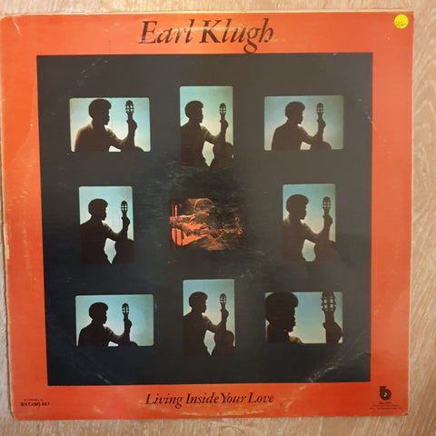 Earl Klugh ‎– Living Inside Your Love -  Vinyl LP Record - Very-Good+ Quality (VG+)