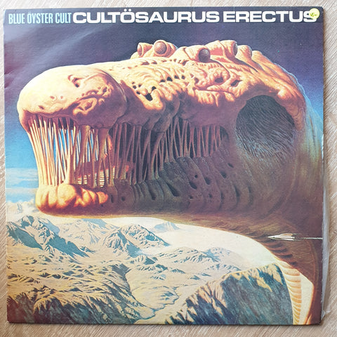Blue Öyster Cult ‎– Cultösaurus Erectus -  Vinyl LP Record - Very-Good+ Quality (VG+)