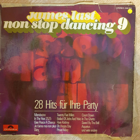 James Last - Non Stop Dancing Vol 9  -  Vinyl LP Record - Opened  - Good Quality (G)