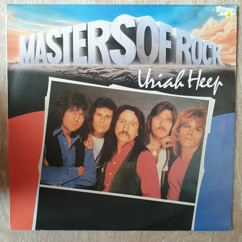 Uriah Heep - Masters Of Rock Series - Vinyl LP Record - Opened  - Very-Good- Quality (VG-)