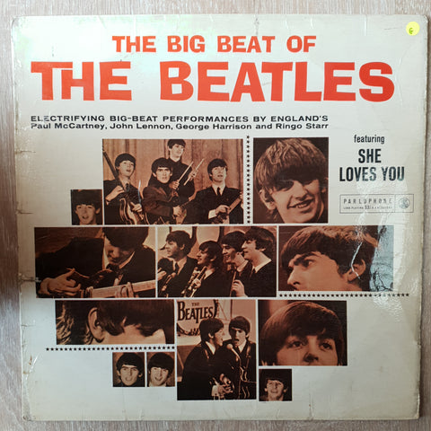 The Beatles ‎– The Big Beat Of The Beatles -  Vinyl LP Record - Opened  - Good Quality (G)