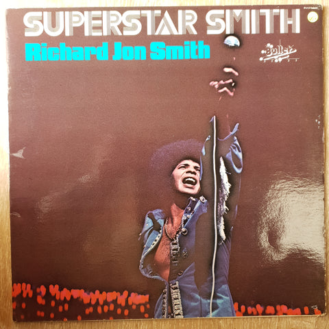 Richard Jon Smith ‎– Superstar Smith –  Vinyl LP Record - Very-Good+ Quality (VG+)