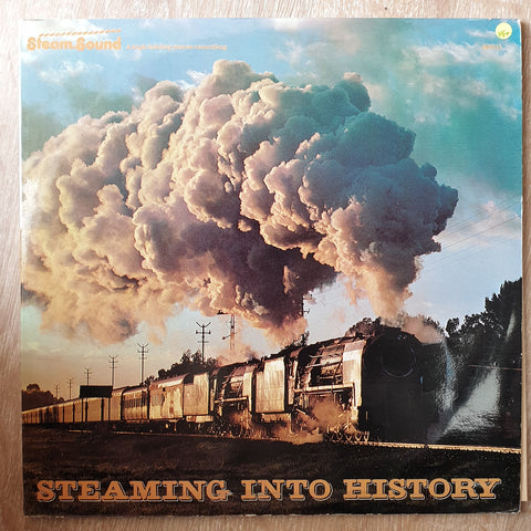 Steam Sound - Steaming into History -  Vinyl LP Record - Very-Good+ Quality (VG+)