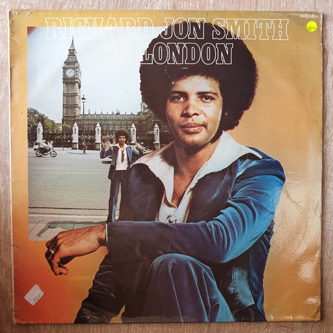 Richard Jon Smith ‎– In London -  Vinyl LP Record - Very-Good+ Quality (VG+)