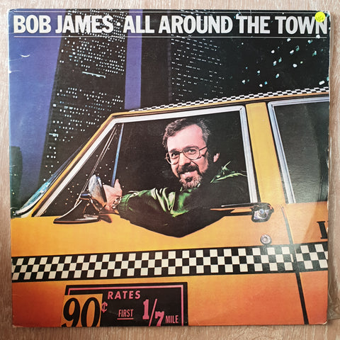 Bob James - All Around The Town -  Vinyl LP Record - Very-Good+ Quality (VG+)