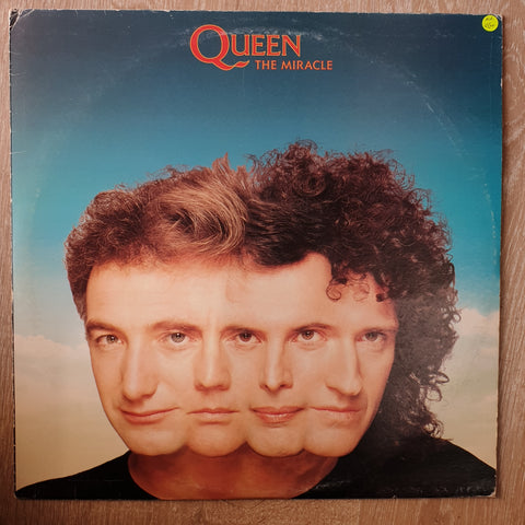 Queen - The Miracle - Vinyl LP Record - Opened  - Very-Good+ Quality (VG+) - C-Plan Audio