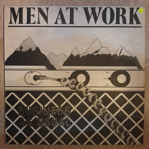 Men At Work - Business As Usual -  Vinyl LP Record - Opened  - Good Quality (G)