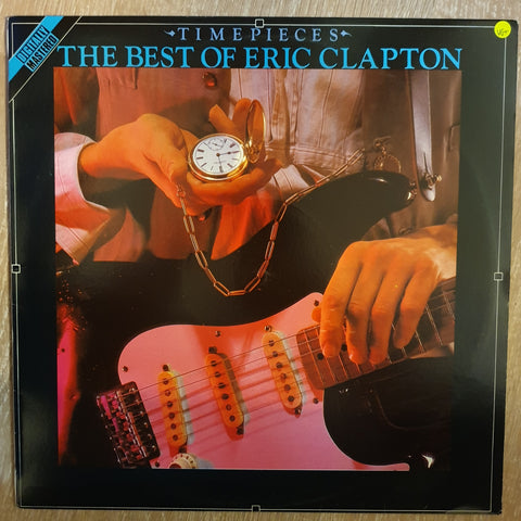 Eric Clapton ‎– Time Pieces - The Best Of Eric Clapton - Vinyl LP Record - Very-Good+ Quality (VG+)