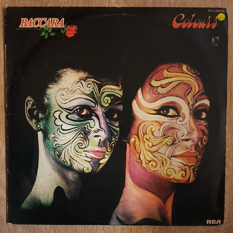Baccara ‎– Colours - Vinyl LP Record - Opened  - Very-Good+ Quality (VG+)