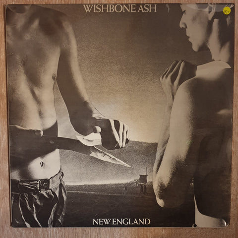 Wishbone Ash ‎– New England - Vinyl LP Record - Very-Good+ Quality (VG+)