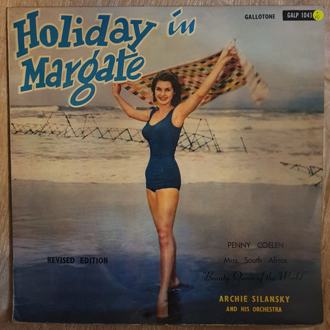 Archie Silansky and His Orchestra - Holiday In Margate featuring Virginia Lee - Vinyl LP Record - Opened  - Very-Good Quality (VG)