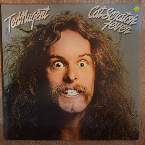 Ted Nugent ‎– Cat Scratch Fever- Vinyl LP Record - Very-Good+ Quality (VG+)