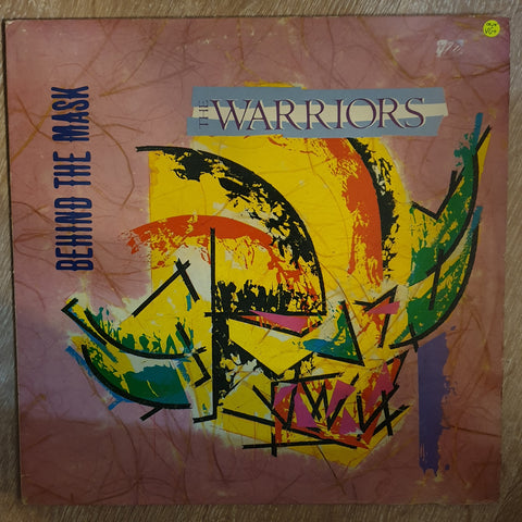 The Warriors ‎– Behind The Mask - Vinyl LP Record - Very-Good+ Quality (VG+)