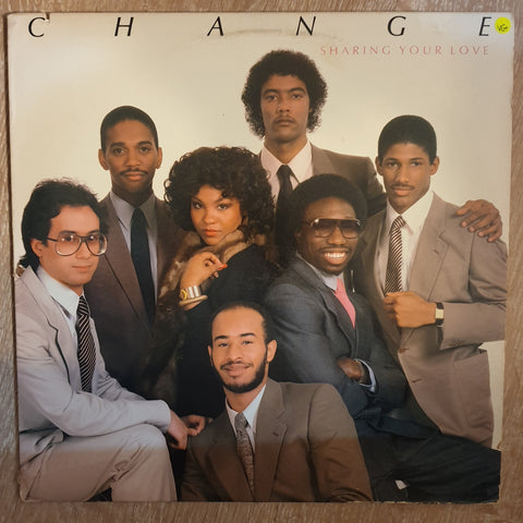 Change ‎– Sharing Your Love - Vinyl LP Record - Very-Good+ Quality (VG+)