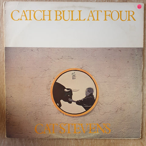 Cat Stevens - Catch Bull at Four - Vinyl LP - Opened  - Very-Good+ Quality (VG+)