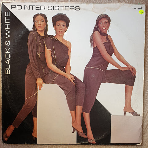 Pointer Sisters ‎– Black & White -  Vinyl LP Record - Very-Good+ Quality (VG+)
