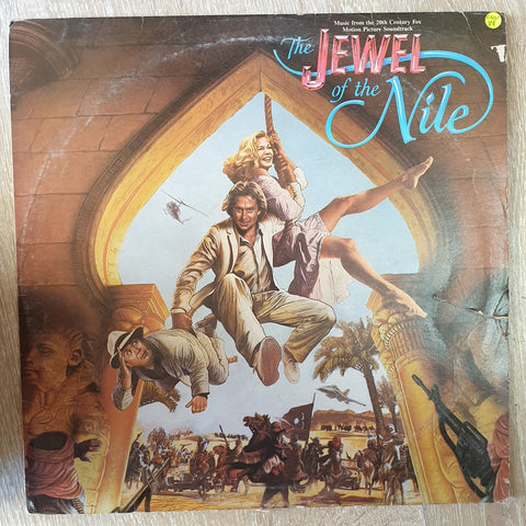 The Jewel Of The Nile: Music From The Motion Picture Soundtrack - Vinyl LP Record - Opened  - Very-Good Quality (VG)