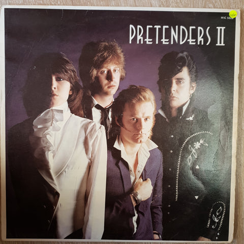 Pretenders ‎– Pretenders II -  Vinyl LP Record - Very-Good+ Quality (VG+)
