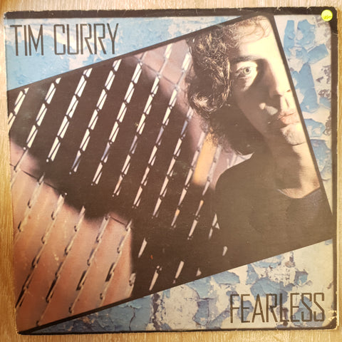 Tim Curry ‎– Fearless -  Vinyl LP Record - Very-Good+ Quality (VG+)