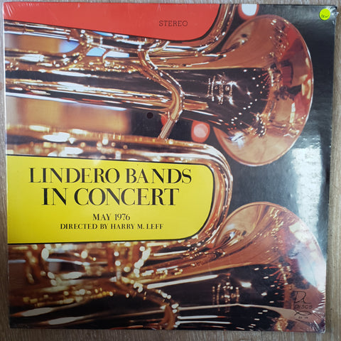 Lindero Bands In Concert - May 1976 - Directed by Harry M Leef - Vinyl LP - Sealed