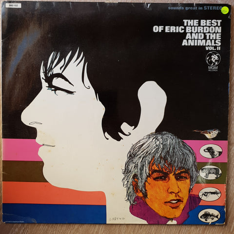 Eric Burdon And The Animals ‎– The Best Of Eric Burdon And The Animals – Vol. II -  Vinyl LP Record - Very-Good+ Quality (VG+)
