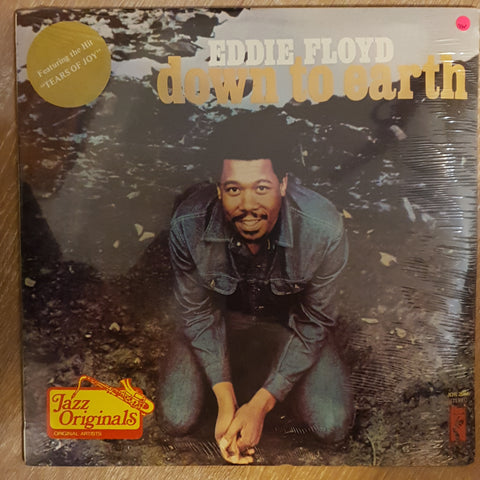 Eddie Floyd ‎– Down To Earth - Vinyl LP - Sealed