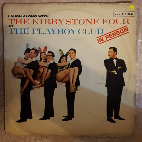 The Kirby Stone Four ‎– Laugh Along With The Kirby Stone Four At The Playboy Club - Vinyl LP Record - Opened  - Very-Good Quality (VG)
