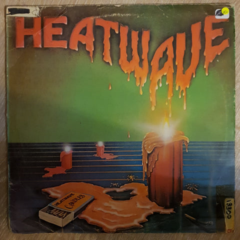 Heatwave ‎– Candles -  Vinyl LP Record - Very-Good+ Quality (VG+)