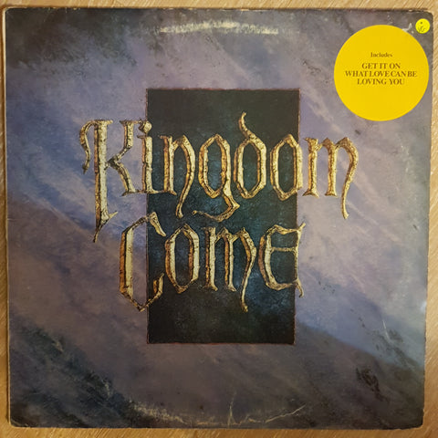 Kingdom Come ‎– Kingdom Come -  Vinyl LP Record - Very-Good+ Quality (VG+)