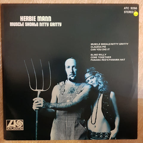 Herbie Mann ‎– Muscle Shoals Nitty Gritty - Vinyl LP Record - Very-Good+ Quality (VG+)
