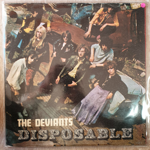 The Deviants ‎– Disposable -  Vinyl LP Record - Very-Good+ Quality (VG+)