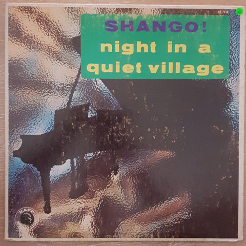 Kip Anderson And The Tides ‎– Shango! Night In A Quiet Village -  Vinyl LP Record - Very-Good+ Quality (VG+)
