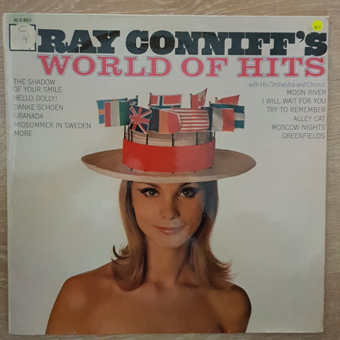 Ray Conniff With His Orchestra And Chorus ‎– Ray Conniff's World Of Hits - Vinyl LP Record - Very-Good+ Quality (VG+)