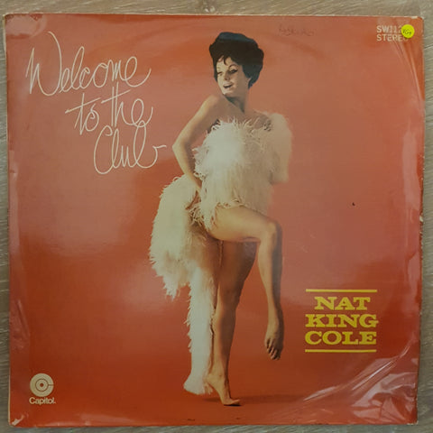 Nat King Cole ‎– Welcome To The Club - Vinyl LP Record - Very-Good+ Quality (VG+)