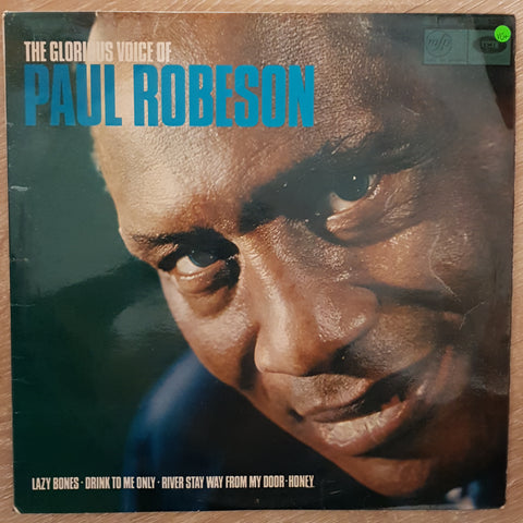 Paul Robeson ‎– The Glorious Voice Of Paul Robeson - Vinyl LP Record - Very-Good+ Quality (VG+)