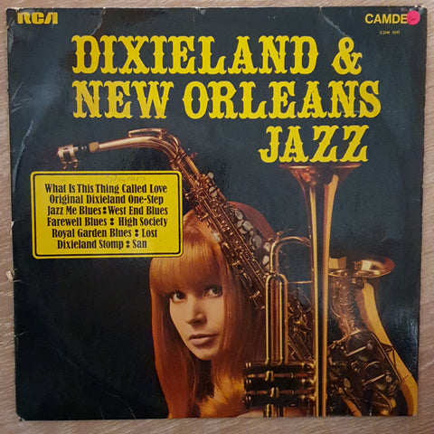 Original Dixieland Jazz Band ‎– Dixieland & New Orleans Jazz ‎– Vinyl LP Record - Opened  - Good+ Quality (G+)