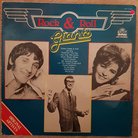 Rock & Roll Giants - Various Artists - Original Artists - Vinyl LP Record - Very-Good+ Quality (VG+)