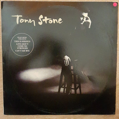 Tony Stone ‎– For A Lifetime - Vinyl LP Record - Very-Good+ Quality (VG+)