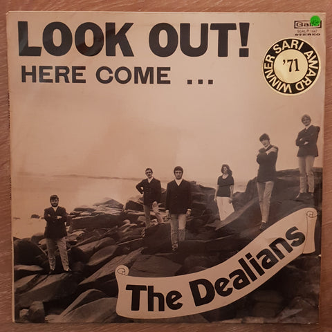 The Dealians ‎– Look Out! Here Come... - Vinyl LP Record - Very-Good+ Quality (VG+)