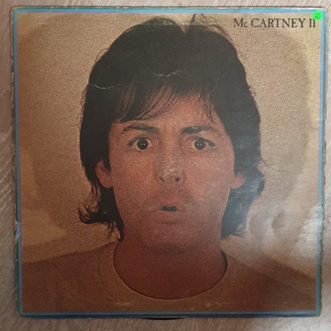 Paul McCartney - Mc Cartney II - Vinyl LP Record - Opened  - Very-Good- Quality (VG-)