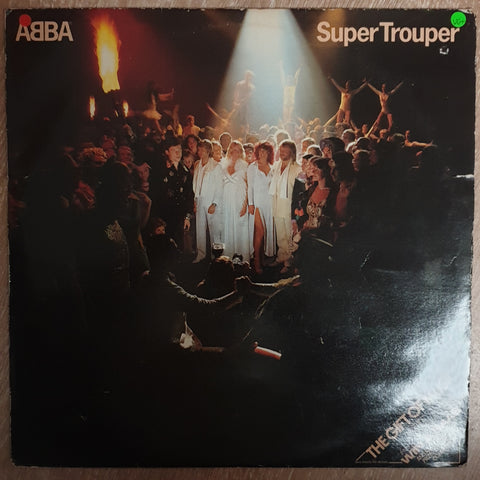 Abba - Super Trouper - Vinyl LP Record - Very-Good+ Quality (VG+)
