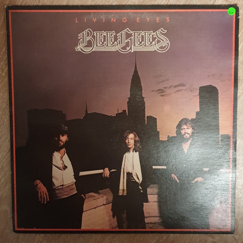 Bee Gees - Living Eyes - Vinyl LP - Opened  - Very-Good+ Quality (VG+)