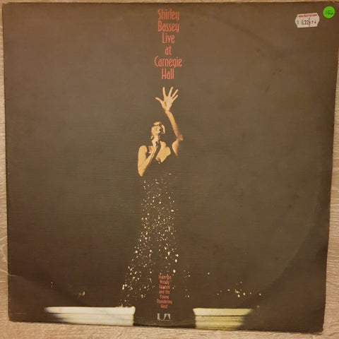 Shirley Bassey - Live at Carnegie Hall - Double Vinyl LP - Opened  - Very-Good+ Quality (VG+) - C-Plan Audio