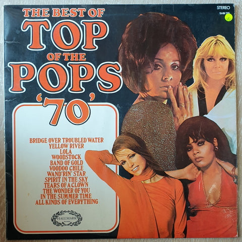"Top Of The Pops - Best of ""70"" - Vinyl LP Record - Opened  - Very-Good Quality (VG)"