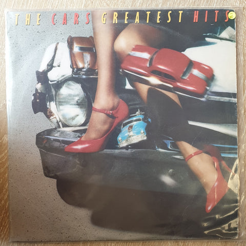 The Cars - Greatest Hits - Vinyl LP Record - Opened  - Very-Good- Quality (VG-)