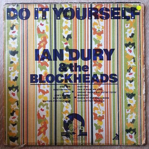 Ian Dury And The Blockheads - Do It Yourself - Vinyl LP Record - Opened  - Good Quality (G)