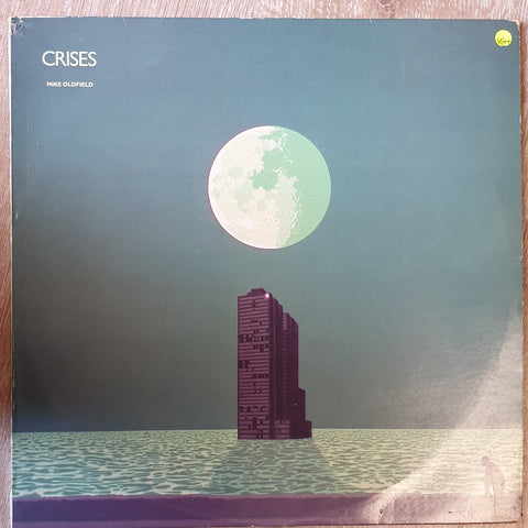 Mike Oldfield ‎– Crises - Vinyl - Vinyl LP Record - Very-Good+ Quality (VG+)
